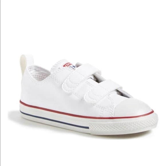 c314a82c891 Converse Other - Converse All Star White Faux Leather Sneaker